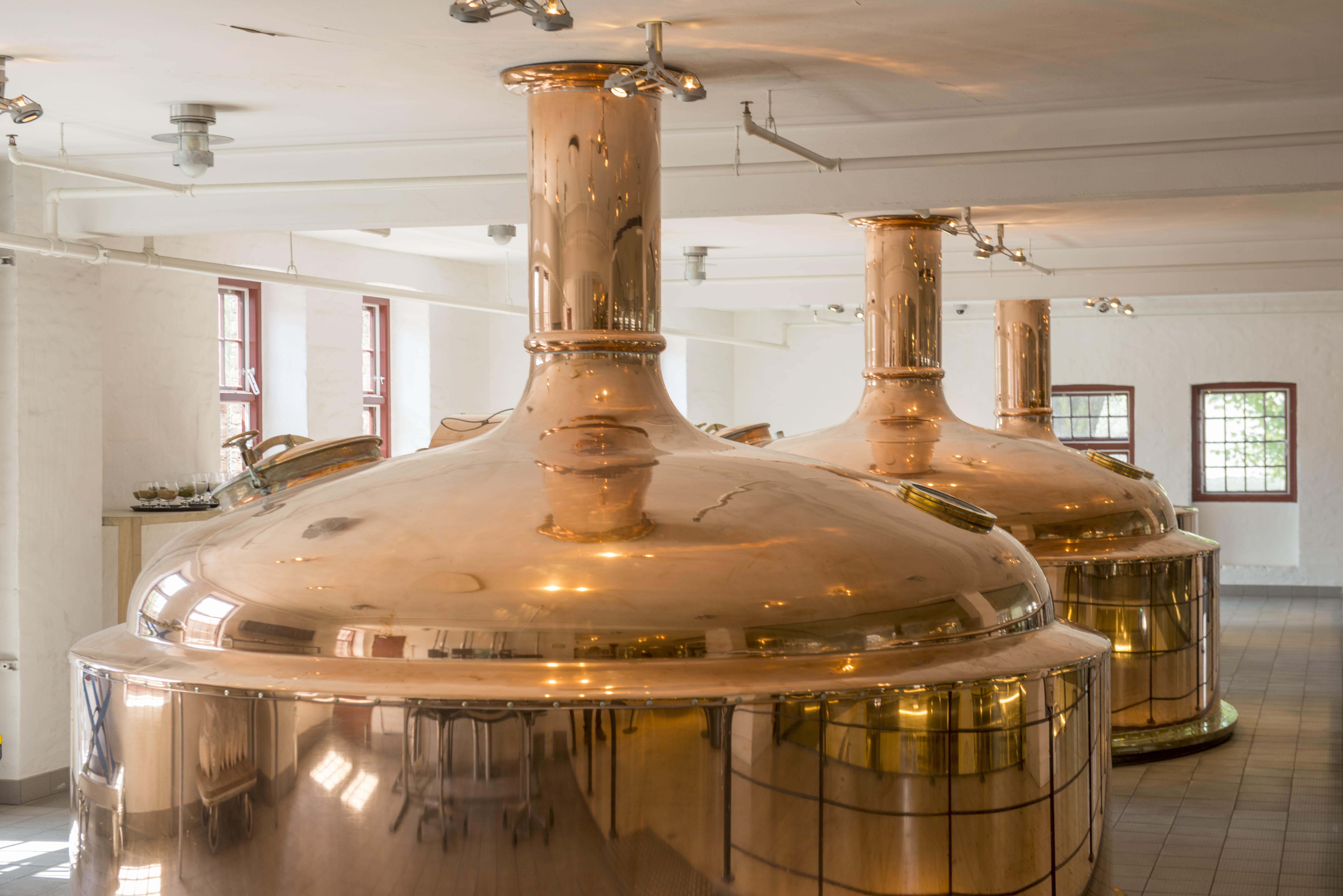 Ølbrygning er en avanceret bioteknologisk proces hvor brygmestre nøje afstemmer råvarerne og hvor mæskning, urtkogning og gæring overvåges og styres. Det kræver højteknologisk produktionsudstyr for præcis styring af de adskillelige parametre der er nødvendige for gentagen fremstilling af øl af høj kvalitet.